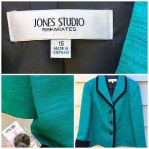 Jones Studio Blazer NWT